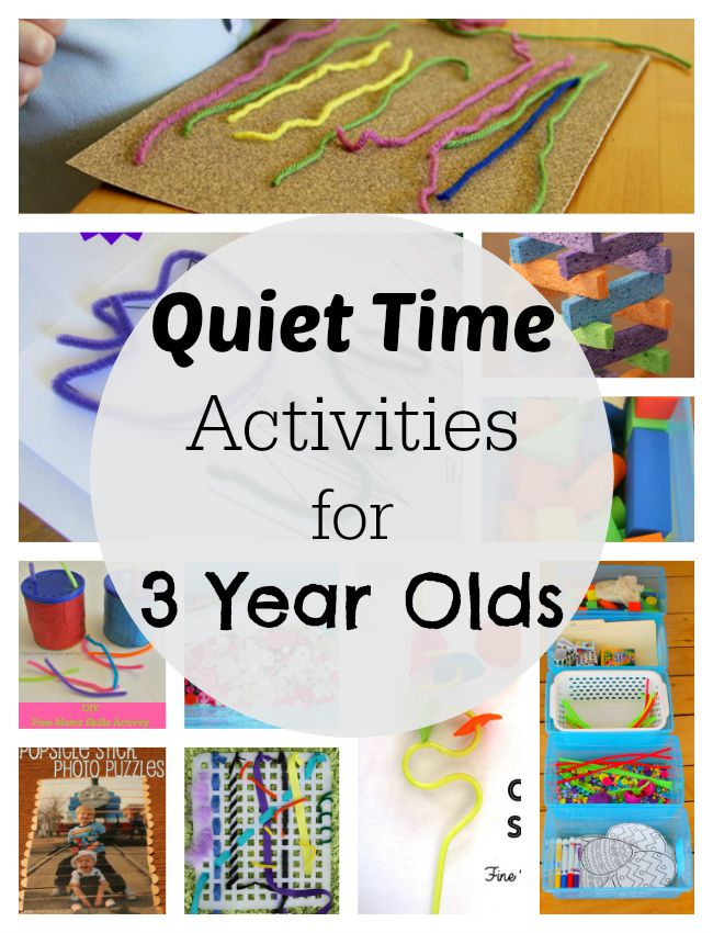 54 Mess Free Quiet Time Activities For