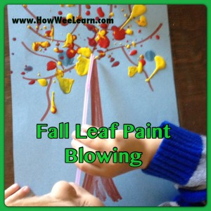 learn about colour mixing with this fall craft for preschoolers!