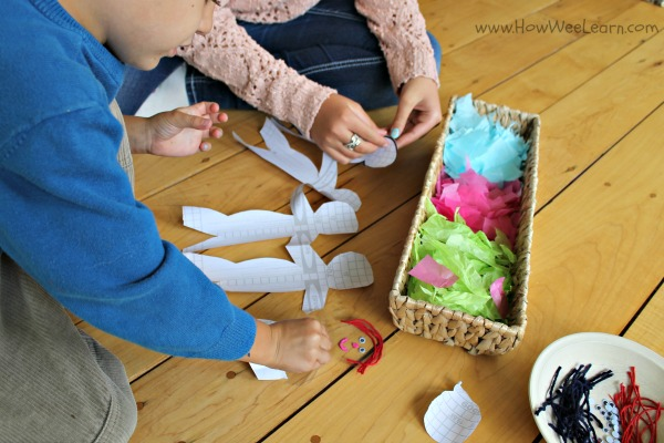 paper doll craft