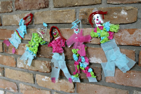 contact paper dolls