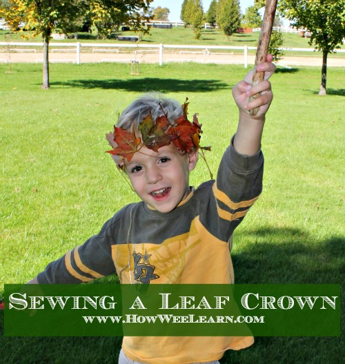 how we learn, leaf crafts for kids