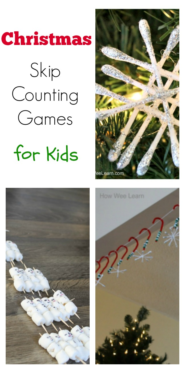 These Christmas skip counting games are such a fun way to count down to Christmas. Can't wait to use this as our advent calendar. Love the skills the kids will learn. Such a fun idea!