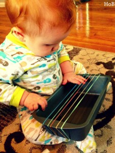 homemade musical instruments baby guitar