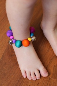 homemade musical instruments jingle bell anklets