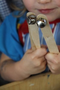 homemade musical instruments jingle bells