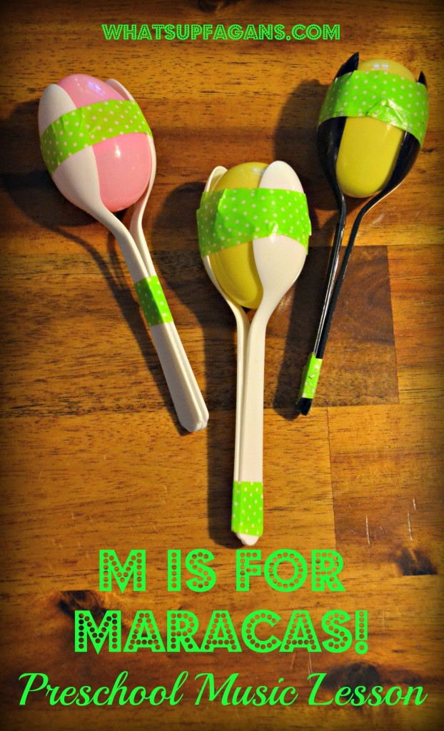 homemade musical instruments maracas