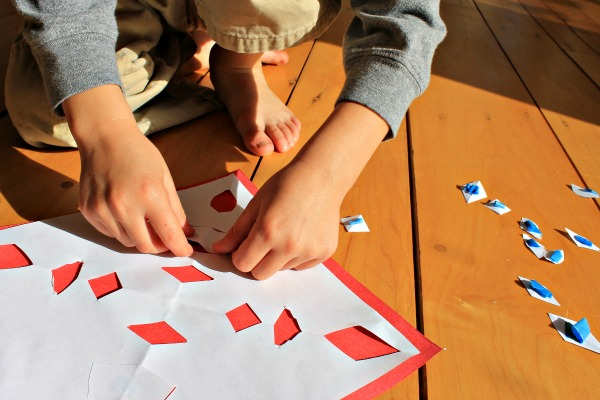 paper snowflake puzzles, how we learn