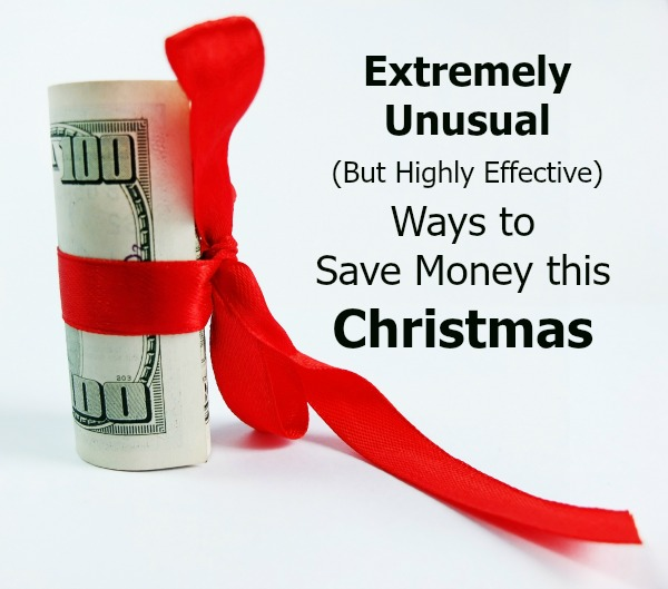 how we save money at Christmas