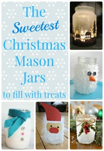 The Sweetest Christmas Mason Jar Crafts