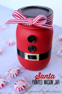 Christmas mason jar crafts for kids
