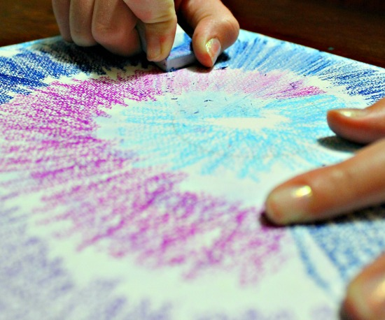 tie dye art projects for kids