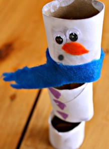 A STEM Snowman Craft