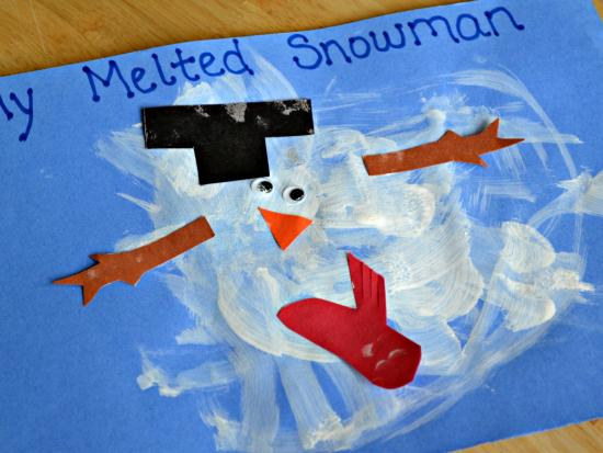 Winter Art For Toddlers How Wee Learn