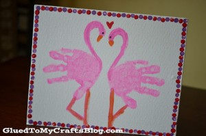 cute kids cards using handprints