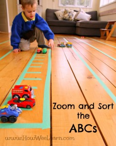 Zoom and Sort the ABCs