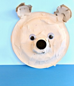 Torn-Paper Polar Bear – cute, cute, cute!