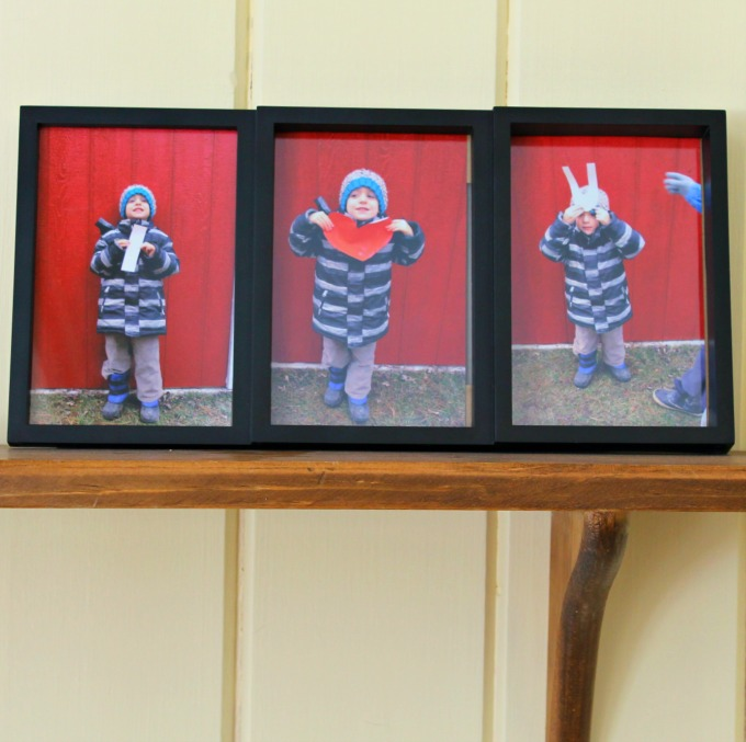 An I love You Picture frame craft for preschoolers - perfect for Valentine's Day