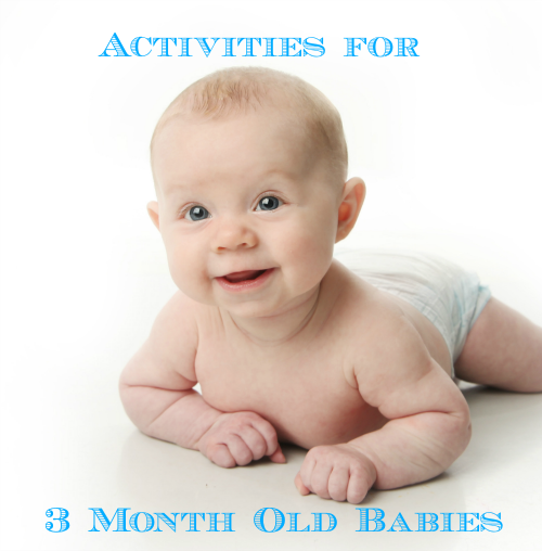 learning activities for 3 month old babies