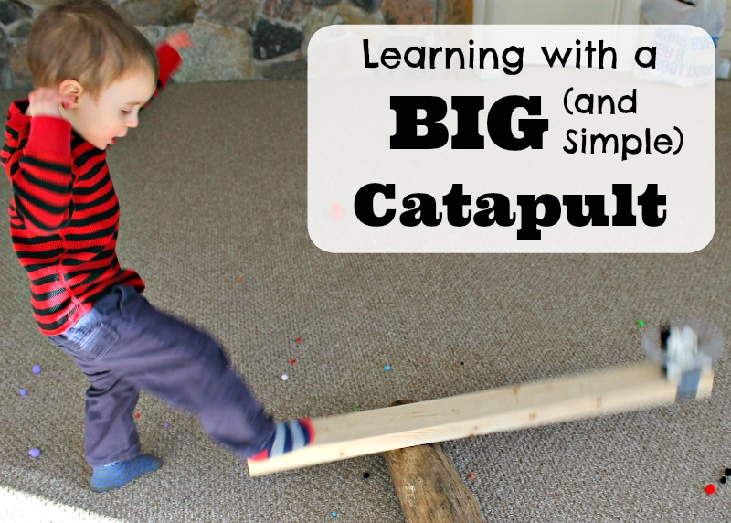 Learning with a really big catapult!
