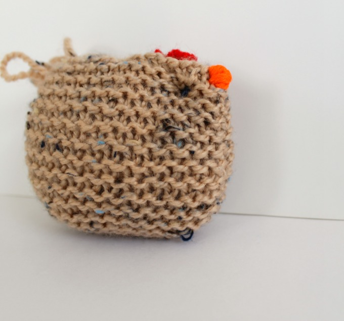 how to knit a chicken for beginner knitters