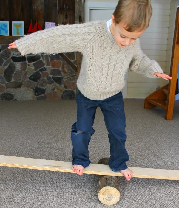 A fun gross motor activity for preschoolers