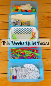 This Weeks Quiet Boxes
