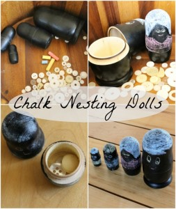 Chalk Nesting Dolls {Golden Cockerel, a How Wee Learn Sponsor}
