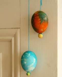 Marbled Easter Eggs {A Photo on Friday}