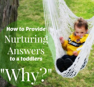 "How to Provide Nurturing Answers to the ""WHY's?"""