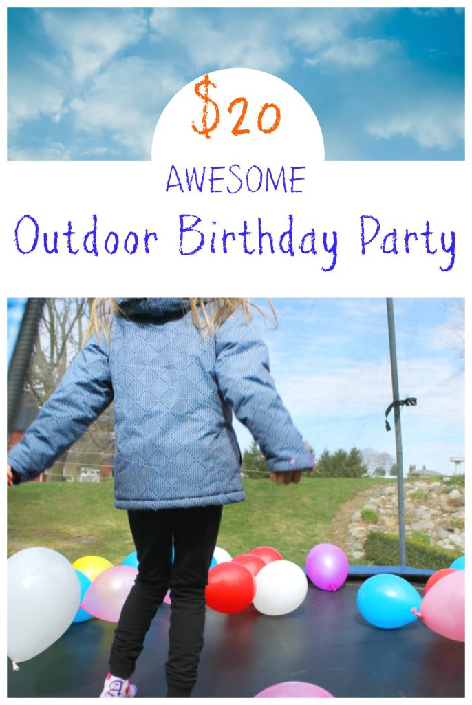 Awesome outdoor birthday party ideas for kids! #birthday #ideas #kids #preschool #outdoors