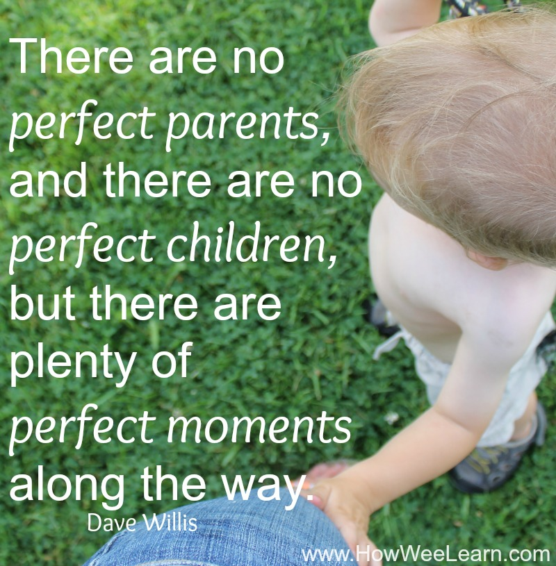 there are no perfect parents