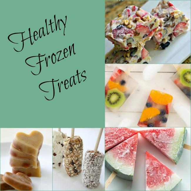 Healthy frozen treats for summer!