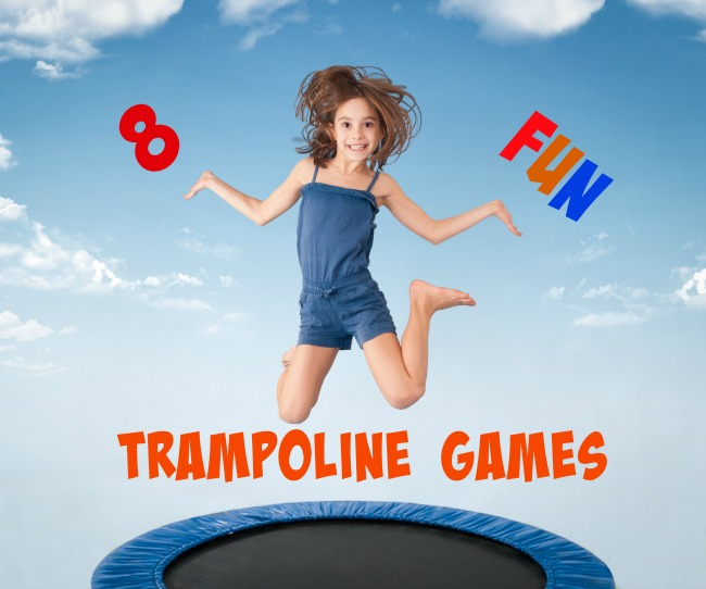 Amazingly fun trampoline games for kids #preschool #trampoline #summer #kidsactivities