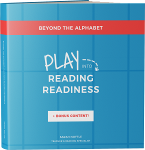 These are the 7 skills kids need before they can read! Learn them through play with this book!