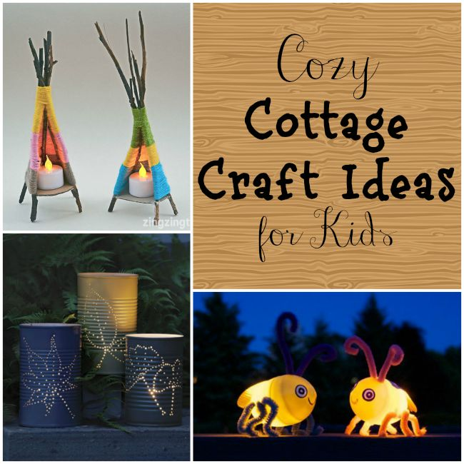 cottage craft ideas perfect for kids this summer!