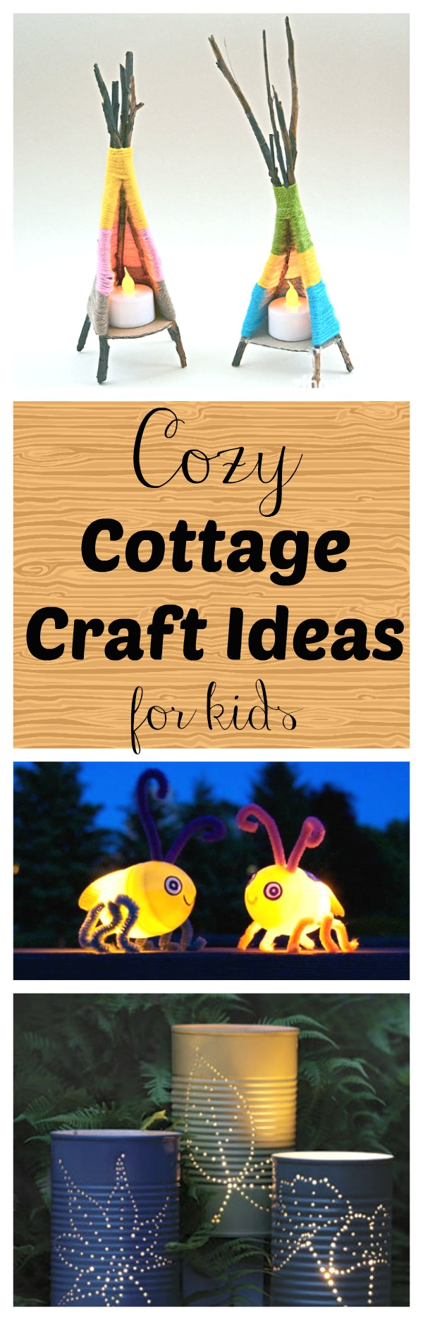 These summer craft ideas are perfect to do at the cottage. Great ideas for summer fun for preschoolers and big kids!