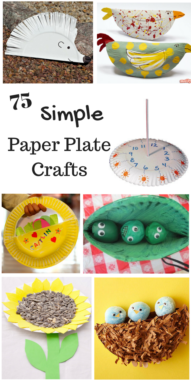 So many simple paper plate crafts for kids! These paper plate crafts are perfect for  sc 1 st  How Wee Learn & 75 Simple Paper Plate Crafts for Every Occasion! - How Wee Learn
