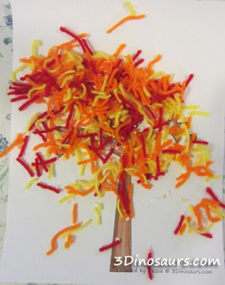 45 of the cutest fall crafts for kids how wee learn for Fall craft ideas for seniors