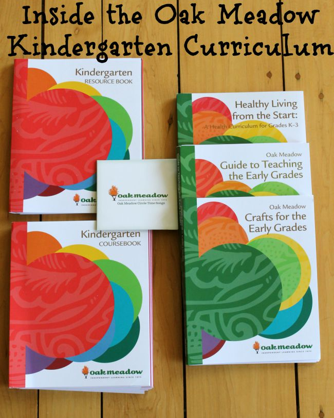 Oak Meadow Kindergarten curriculum review