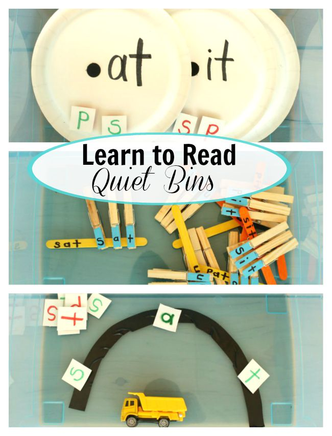 Learn to read Quiet Bins!