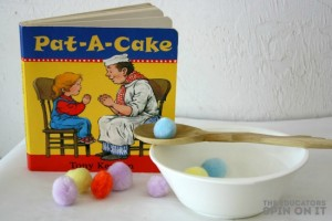 Quiet activities for two year olds - board books