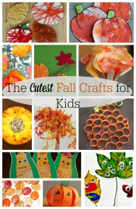 45 of the CUTEST Fall Crafts for Kids