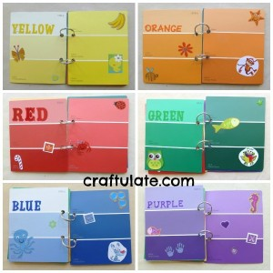 stickers colour book craftulate