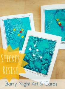 stickers starry night
