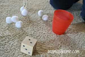 Farm theme activities - count the sheep math game