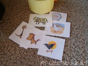 Farm theme activities - farm animal charades