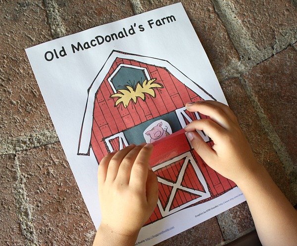 coloring pages old macdonald song - photo#30