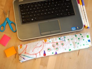 Gifts kids can make - computer wrist rest