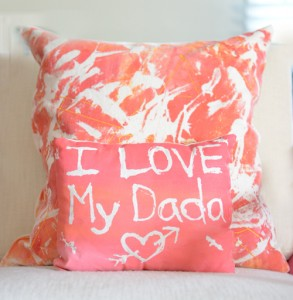 Gifts kids can make - homemade pillowcases