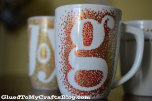 Gifts kids can make - painted mugs